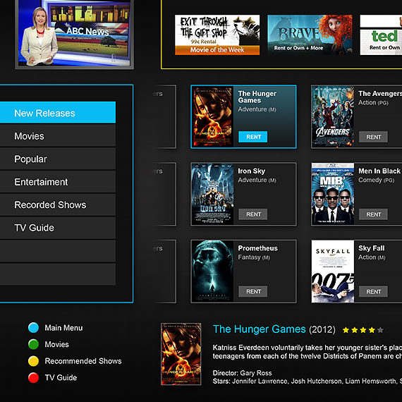 IceTV TV Guide Interface